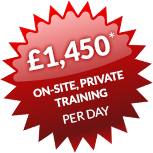 £1,450 per day* No matter how many attendees!